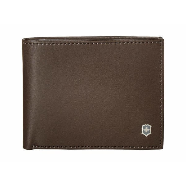 ビクトリノックス メンズ 財布 アクセサリー Altius Edge Appolonios Slim Bifold Wallet w/ RFID Dark Earth Leather
