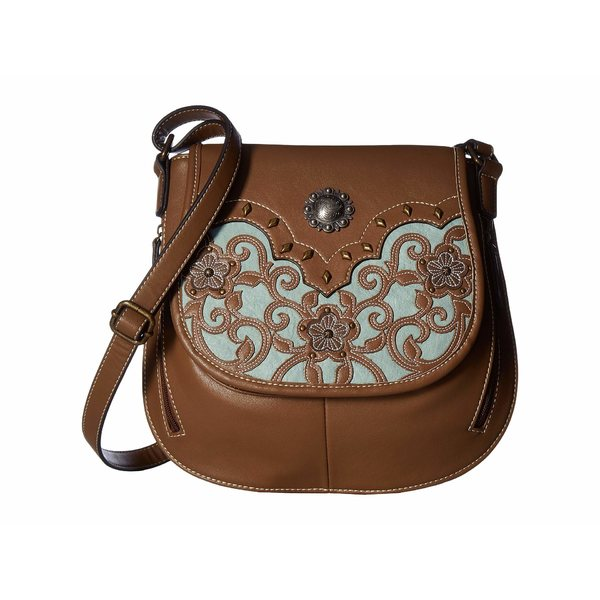 421baa146920 エムエフウエスターン レディース ハンドバッグ バッグ Calico Kate Conceal & Carry Crossbody Brown