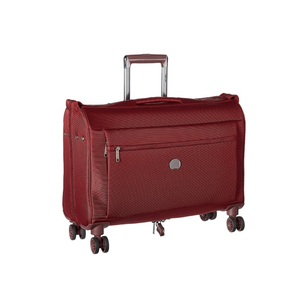 デルシー メンズ ボストンバッグ バッグ Montmartre Carry-On Spinner Trolley Garment Bag Bordeaux