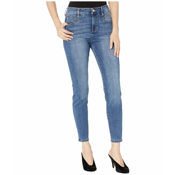 リバプール レディース デニムパンツ ボトムス Abby High-Rise Ankle Skinny w/ Slant Pockets in Eco-Friendly Denim in Laine Laine