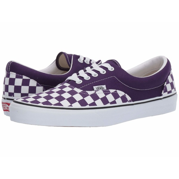 バンズ メンズ スニーカー シューズ Era (Checkerboard) Violet Indigo/True White