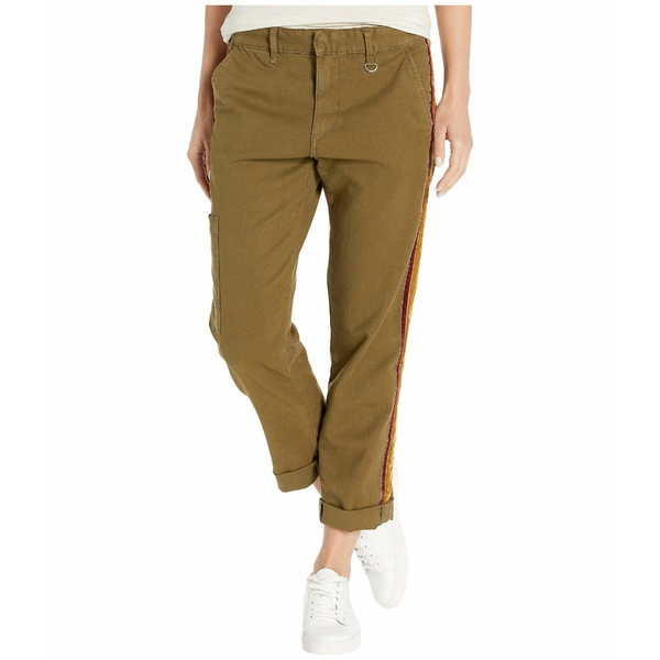 ジョーズジーンズ レディース カジュアルパンツ Velvet Ankle ボトムス The Ankle Velvet Olive Trousers Dark Olive, GROWING RICH:6061d383 --- officewill.xsrv.jp