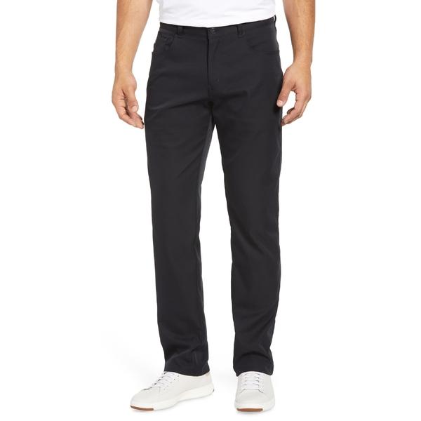 ピーター・ミラー メンズ カジュアルパンツ ボトムス Peter Millar Five-Pocket Performance Pants Black