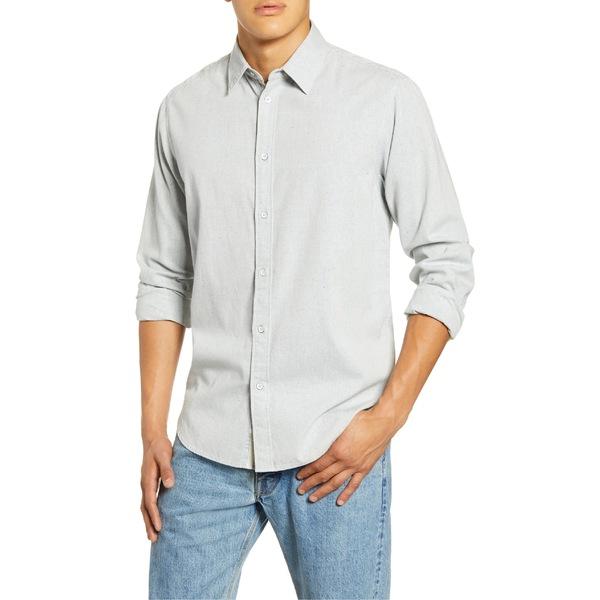 ラグアンドボーン メンズ シャツ トップス rag & bone Fit 3 Button-Up Flannel Shirt Light Blue