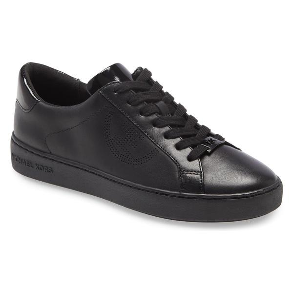 マイケルコース レディース スニーカー シューズ MICHAEL Michael Kors 'Keaton' Sneaker (Women) Black Leather