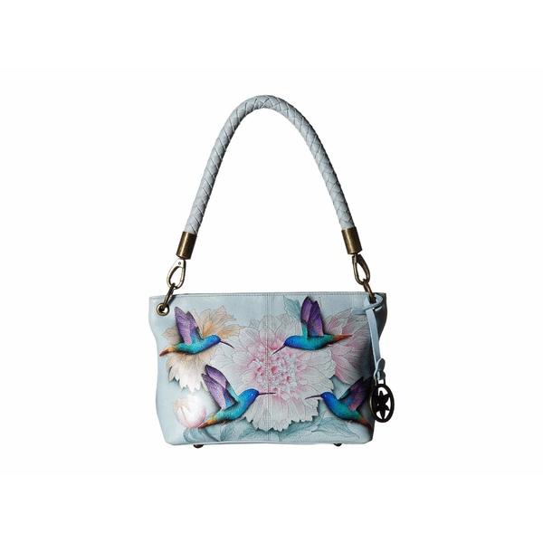 アヌスカ レディース ハンドバッグ バッグ Medium Shoulder Bag 634 Rainbow Birds