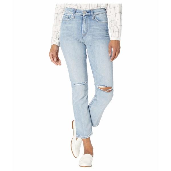 ハドソンジーンズ レディース デニムパンツ ボトムス Holly High-Rise Crop Straight Jeans in Dest Washed Out Dest Washed Out
