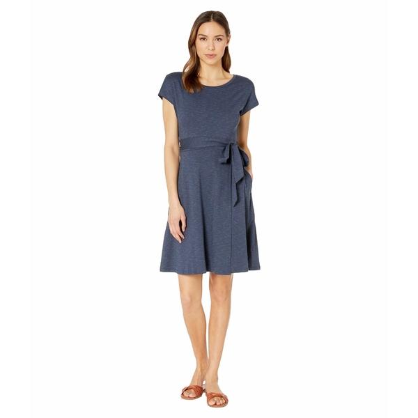 ドード アンドコー レディース ワンピース トップス Cue Wrap Short Sleeve Dress True Navy