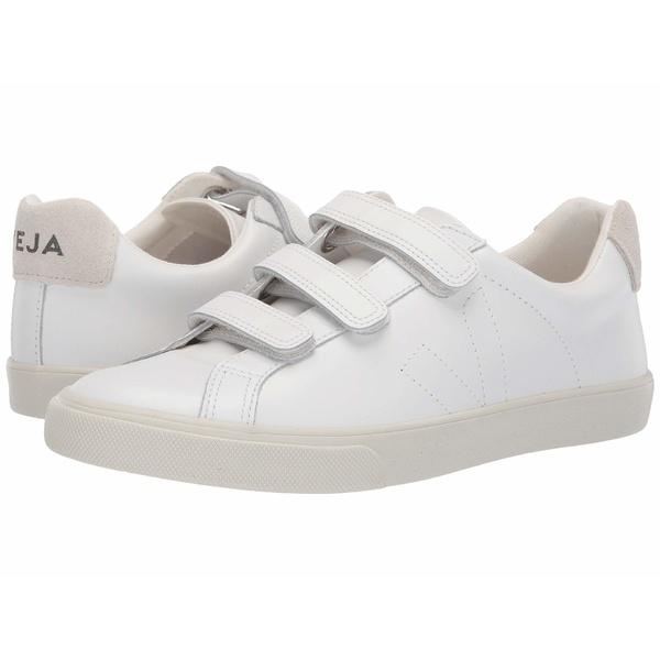 ヴェジャ レディース スニーカー シューズ 3-Lock Extra White Pierre Leather