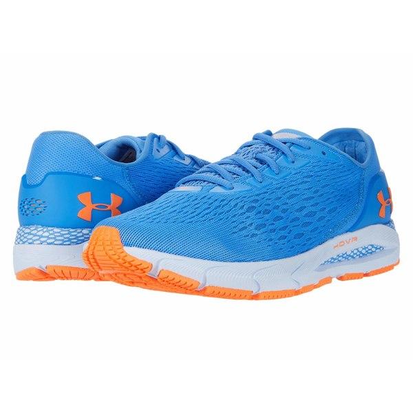 アンダーアーマー メンズ スニーカー シューズ HOVR Sonic 3 Water/Spackle Blue/Orange Spark