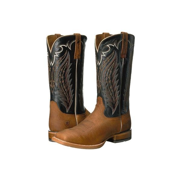 アリアト メンズ ブーツ&レインブーツ シューズ Top Hand Cattleguard Brown/Bayou Black