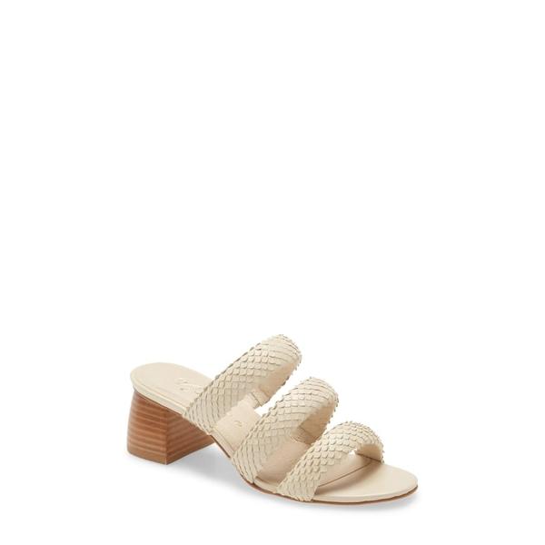 マチス レディース サンダル シューズ Milano Slide Sandal Ivory Leather