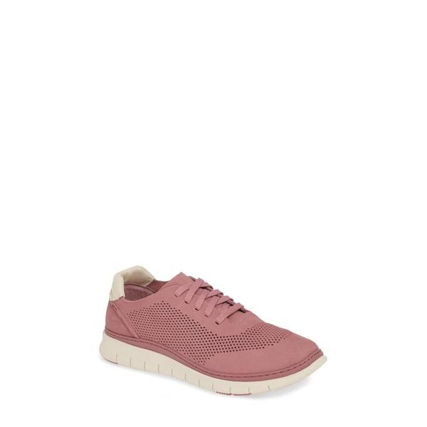 バイオニック レディース スニーカー シューズ Joey Sneaker French Rose Nubuck Leather