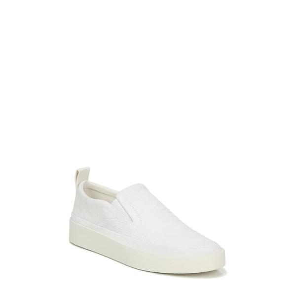 ヴィアスピガ レディース スニーカー シューズ Markie Slip-On Sneaker Milk Nubuck Leather