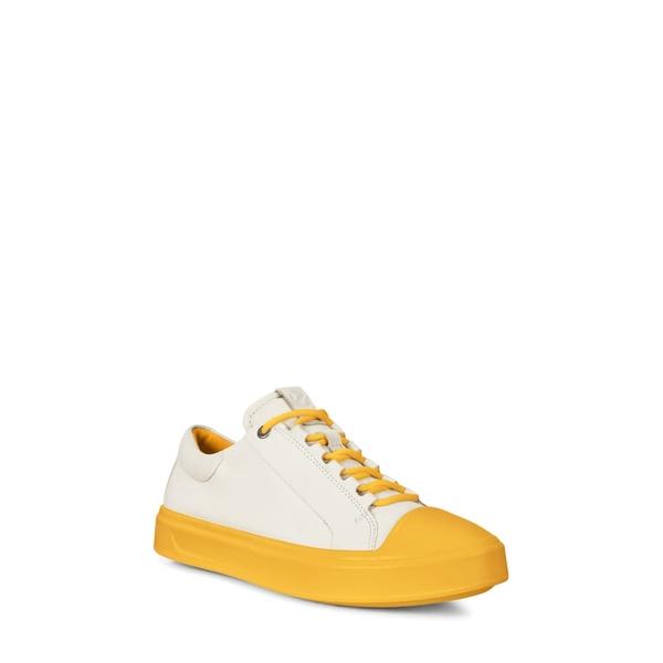 エコー レディース スニーカー シューズ Flexure T-Cap Sneaker Marigold Leather