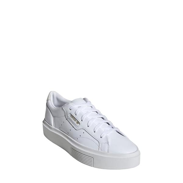 アディダス レディース スニーカー シューズ Sleek Super Sneaker White/ Crystal White/ Black
