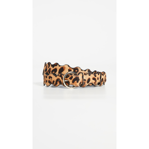ロフラー ランダル レディース ベルト アクセサリー Rickrack Belt Leopard