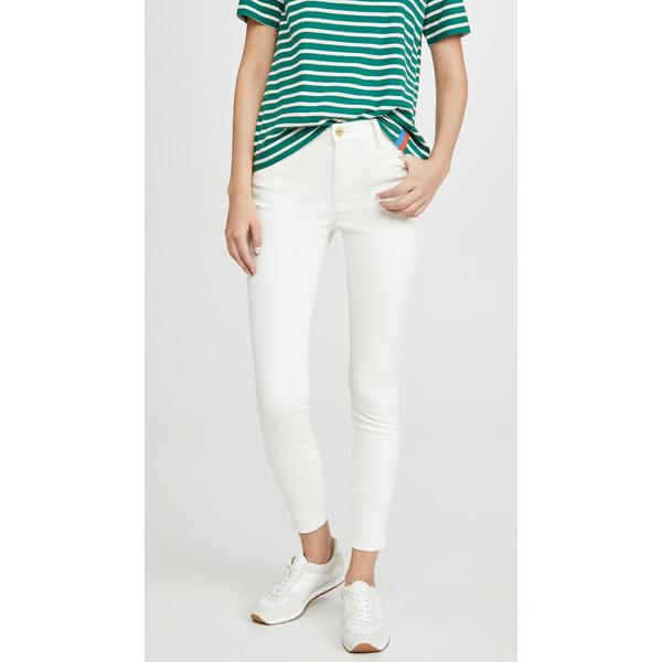 フレーム レディース デニムパンツ ボトムス Le High Skinny Jeans Off White Coated