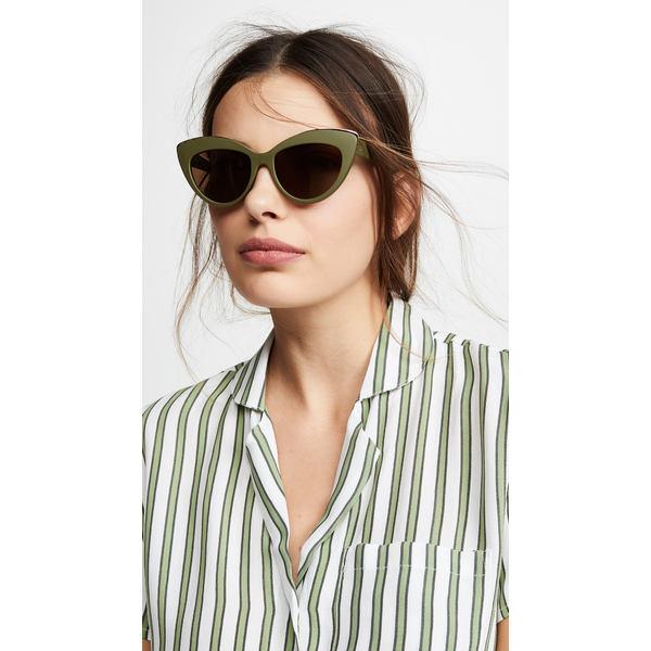 ルスペックス レディース サングラス&アイウェア アクセサリー Beautiful Stranger Sunglasses Matte Khaki/Brown