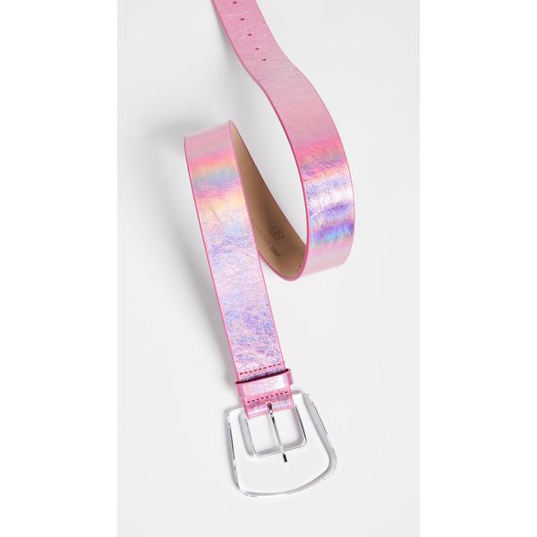 ビーロウザベルト レディース ベルト アクセサリー Cece Iridescent Belt Pink
