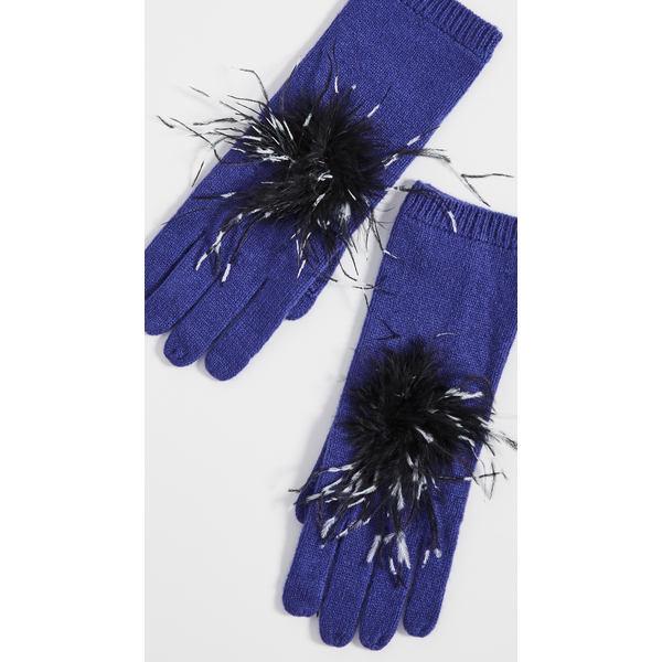 ユージニアキム レディース 手袋 アクセサリー Sloane Cashmere Gloves Periwinkle