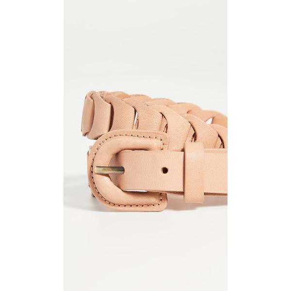 ジマーマン レディース ベルト アクセサリー Leather Link Belt Tan