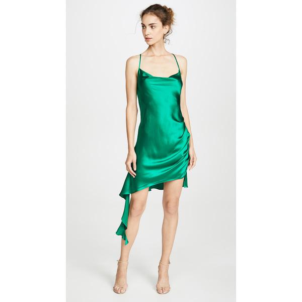 アマンダ アプリチャード レディース ワンピース トップス Solange Dress Dark Green