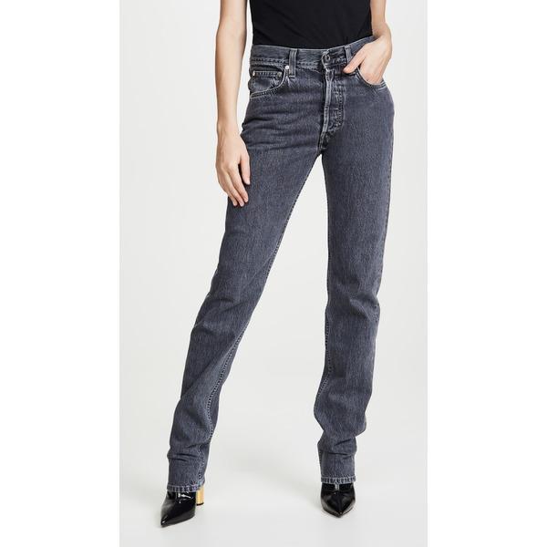 ヘルムート ラング レディース デニムパンツ ボトムス Masc Hi Straight Leg Jeans Midnight Stone Universe