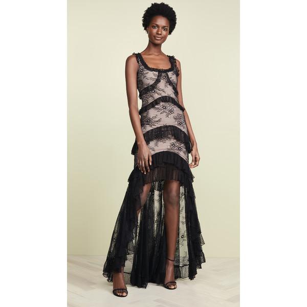 アレクシス レディース ワンピース トップス Timotha Gown Black Lace