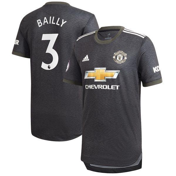 アディダス メンズ ユニフォーム トップス Eric Bailly Manchester United adidas 2020/21 Away Authentic Player Jersey Green