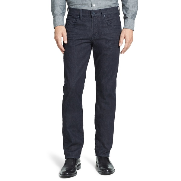 7フォーオールマンカインド メンズ カジュアルパンツ ボトムス 7 For All Mankind The Straight Luxe Performance Slim Straight Leg Jeans (Deep Well) Deep Well