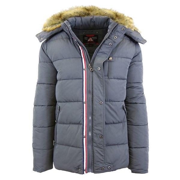 <title>ギャラクシーバイハルビック メンズ アウター ジャケット ブルゾン Charcoal 全商品無料サイズ交換 売買 Men's Heavyweight Bomber Parka Zip Jacket with Detachable Hood</title>