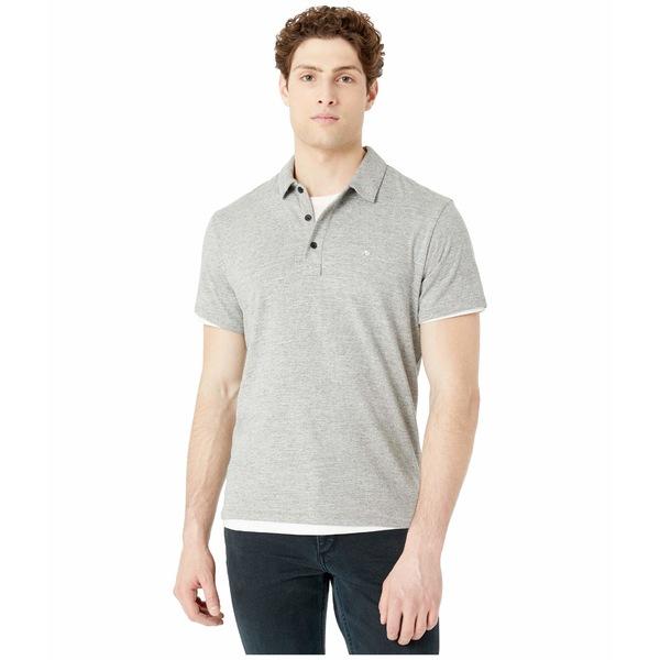 ラグアンドボーン メンズ シャツ トップス Classic Polo Medium Grey