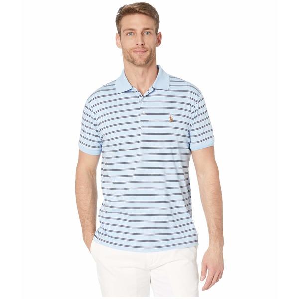 ラルフローレン メンズ シャツ トップス Slim Fit Soft Touch Polo Blue