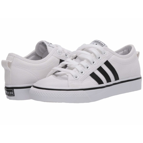 アディダス メンズ スニーカー シューズ Nizza Footwear White/Core Black/Footwear White
