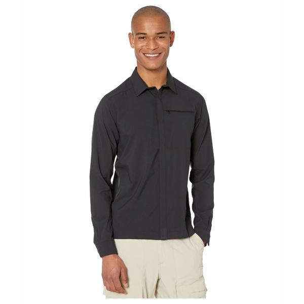 アークテリクス メンズ シャツ トップス Skyline Long Sleeve Shirt Black 2