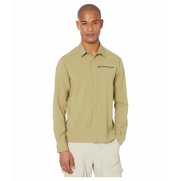アークテリクス メンズ シャツ トップス Skyline Long Sleeve Shirt Taxus