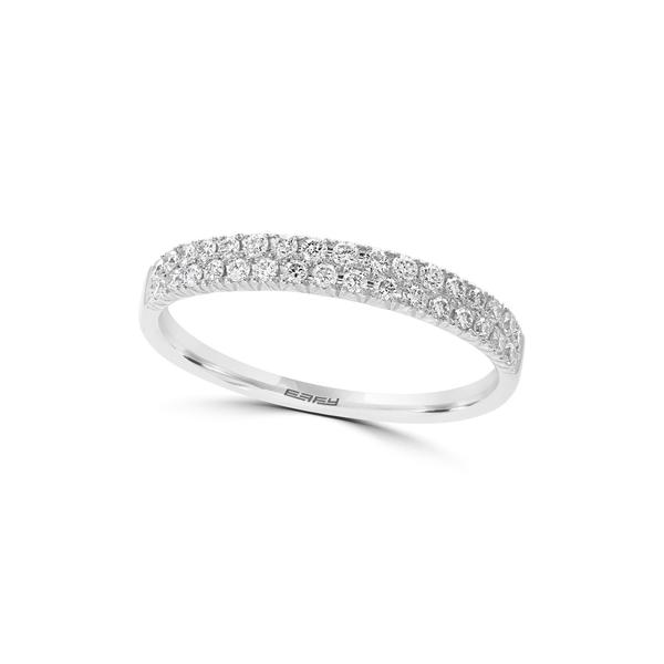 <title>エフィー レディース アクセサリー リング WHITE 全商品無料サイズ交換 14K White Gold Pave Diamond Ring - 0.37 ctw Size 限定タイムセール 7</title>