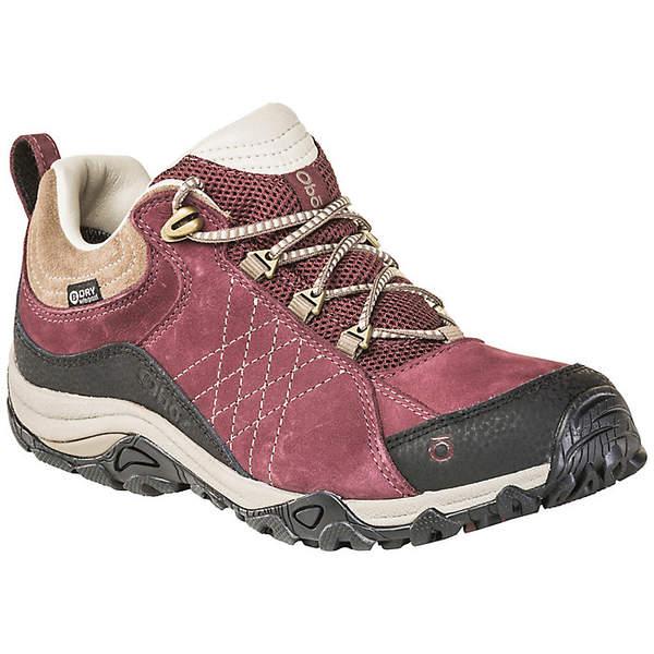 オボズ レディース ハイキング スポーツ Oboz Women's Sapphire Low BDry Shoe Boysenberry