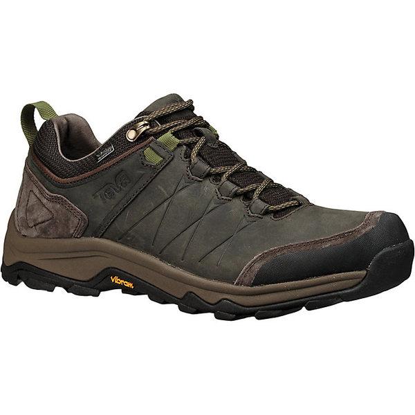 テバ メンズ ハイキング スポーツ Teva Men's Arrowood Riva Waterproof Shoe Black Olive
