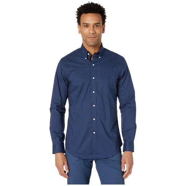 ラルフローレン メンズ シャツ トップス Slim Fit Poplin Shirt Executive Dot