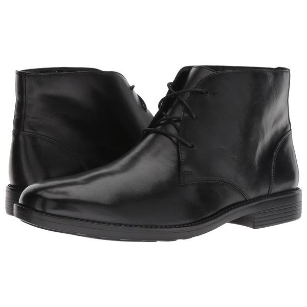 ボストニアン メンズ ブーツ&レインブーツ シューズ Birkett Mid Black Leather