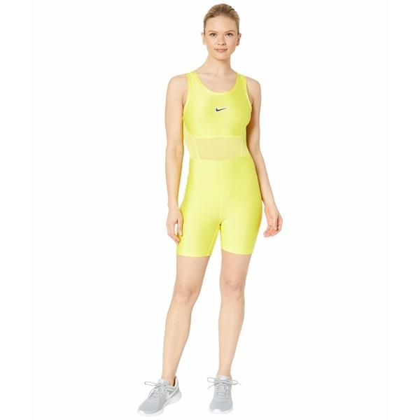 ナイキ レディース シャツ トップス NikeCourt Bodysuit MB NT Opti Yellow/Opti Yellow/Off Noir