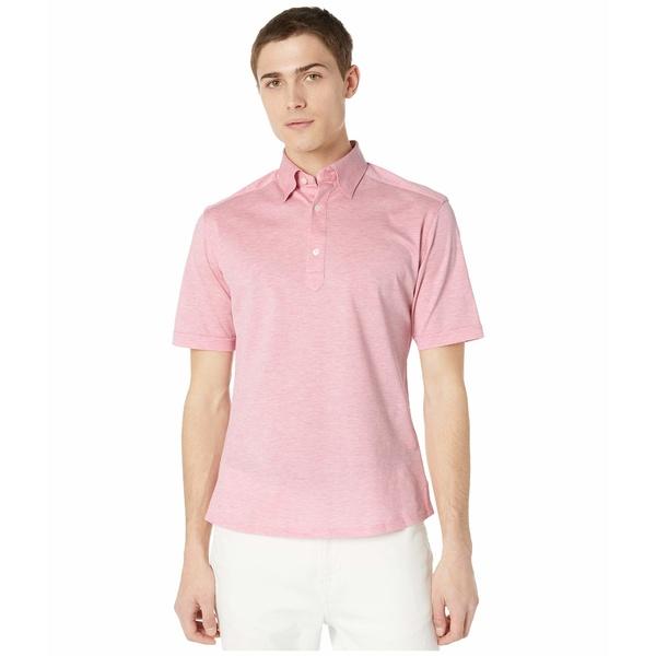 エトン メンズ シャツ トップス Classic Polo Pink