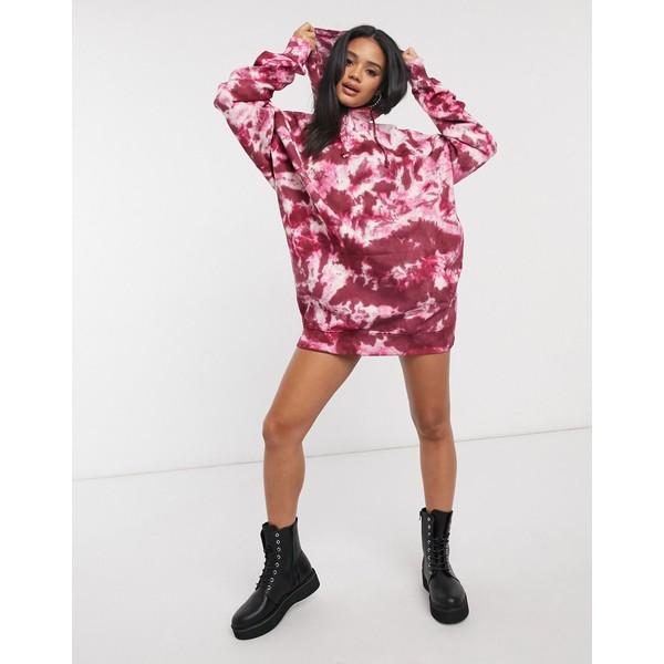 ミスガイデッド レディース ワンピース トップス Missguided oversized hooded sweater dress Multi