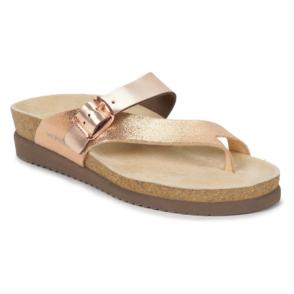 メフィスト レディース サンダル シューズ Mephisto Helen Mix Sandal (Women) Nude Venise/ Pink Leather