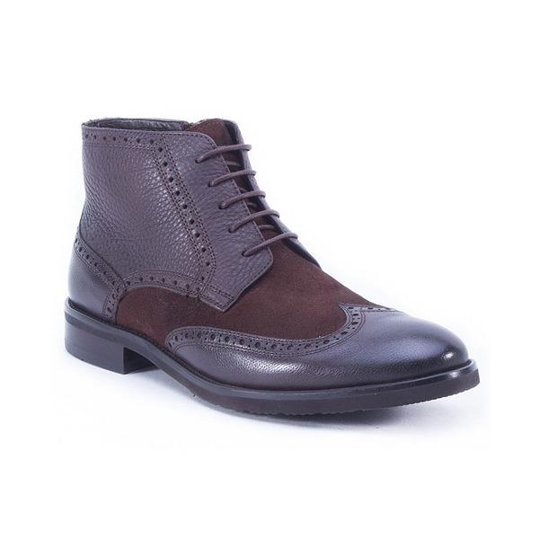 レビューを書けば送料当店負担 イングリッシュランドリー メンズ シューズ ブーツ レインブーツ Brown 全商品無料サイズ交換 Dress Lace 高額売筋 Casual Up Men's Boot