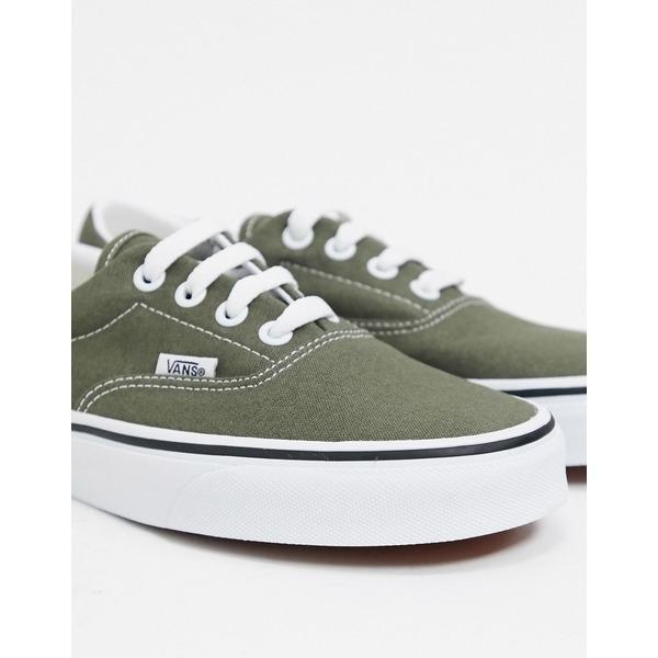 バンズ レディース シューズ 商舗 スニーカー Grape leaf true white 購入 in sneakers green 全商品無料サイズ交換 Vans Era