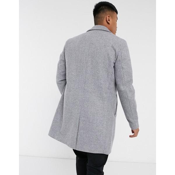 アウター & melange コート メンズ ジョーンズ Jack gray Jones in gray アンド Originals Medium overcoat ジャック