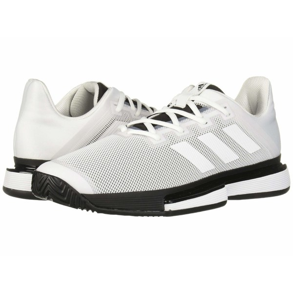 アディダス メンズ スニーカー シューズ SoleMatch Bounce Footwear White/Footwear White/Core Black